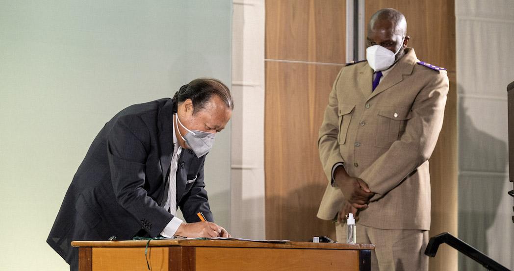 afrique-du-sud-Cap-signature-accord-administration-penitentiaire